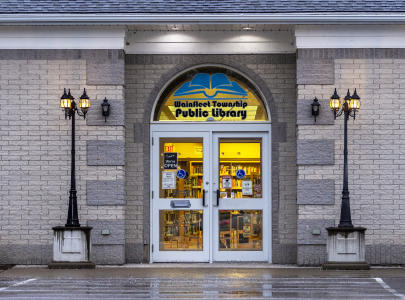Wainfleet Township Public Library Entrance