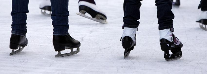 People skating