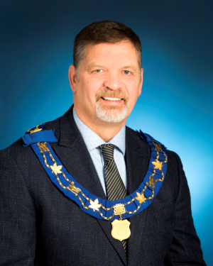 Mayor Kevin Gibson